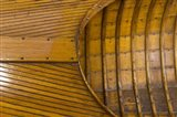 Vintage wooden Canoe Detail