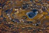Swirl Pattern on Deschutes Jasper Slab
