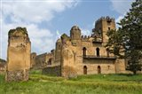Fasilides' Castle in the fortress-city of Fasil Ghebbi, Gondar, Ethiopia