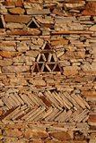 Mauritania, Adrar, Chinguetti, Stone pattern