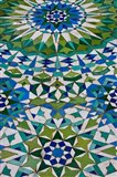 Floor tiles in Al-Hassan II mosque, Casablanca, Morocco
