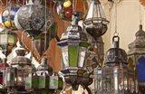 Decorative Lanterns in Fes Medina, Morocco