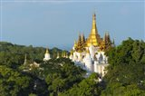 Pagoda on Sagaing Hill, Mandalay, Myanmar