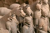 Terra Cotta Warriors and Horses at Emperor Qin Shihuangdi's Tomb, China
