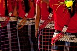 Nocte Naga Tribes, Khonsa, Arunachal Pradesh, India