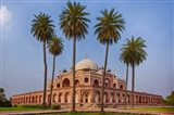 Exterior view of Humayun's Tomb in New Delhi, India