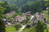 Gassho-Zukuri Houses in the Mountain, Japan
