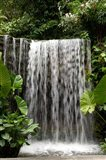 Singapore, National Orchid Garden, Waterfall