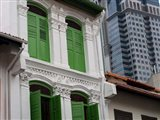 Modern Buildings and Older Ones in Singapore