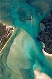 Tidal Patterns, Awaroa Inlet, South Island, New Zealand