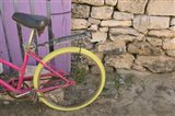 Colorful Bicycle on Salt Cay Island, Turks and Caicos, Caribbean