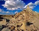 Badlands at Dinosaur Provincial Park in Alberta, Canada - your walls, your style!