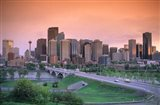 Skyline of Calgary, Alberta, Canada