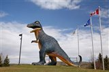 Albertosaurus Dinosaur, Drumheller, Alberta, Canada - your walls, your style!
