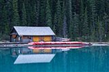 Canoe rental house on Lake Louise, Banff National Park, Alberta, Canada - your walls, your style!