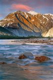 Canada, British Columbia, Alsek River Valley (vertical) - your walls, your style!