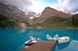 British Columbia, Yoho NP, Boats on Lake Ohara