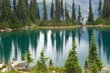 British Columbia, Revelstoke NP, Lake Eva, Mountains