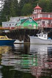 British Columbia, Prince Rupert Boats in harbor