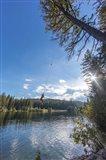 Rope swinging at Champion Lakes Provincial Park, BC, Canada