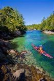 British Columbia, Vancouver Island, Sea kayakers