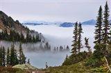 British Columbia, Whistler Mountain, Clouds