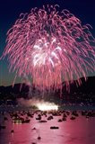 Fireworks, English Bay, Vancouver, British Columbia