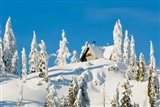 Mountain cabin, Seymour Mountain, British Columbia