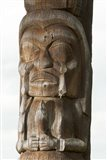 Gitksan totem pole, Kispiox Village, British Columbia