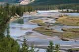 Rivers in Jasper National Park, Canada