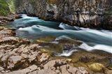 Maligne River, Maligne Canyon, Jasper NP, Canada