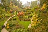 The Sunken Garden, Butchart Gardens, Victoria, BC