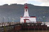 Lighthouse, Port Alberni, Harbor Quay Marina, Vancouver Island, British Columbia, Canada