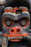 First Nation Totem Pole, Thunderbird Park, Victoria, Vancouver, British Columbia, Canada