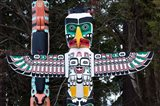 British Columbia First Nation Totems