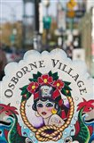 Sign for Osborne Village