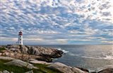 Lighthouse in Peggys Cove, Nova Scotia