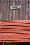 Covehead Bay Liars' Bench