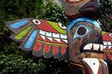 Tadoussac Native American Totem Pole