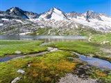 Reichenspitz Mountains and Lake Gerlos