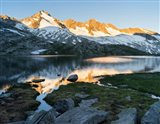 Sunrise at Lake Gerlos