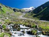Valley Wildgerlos with Mt Reichenspitze