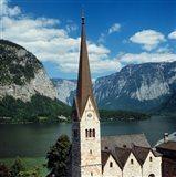 Spire of Hallstatt Church