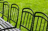 Park Benches in Palace Gardens, Austria
