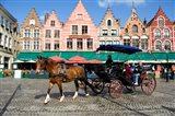 Medieval Market Square, Belgium