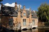 Canal Building, Bruges, Belgium
