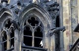Castle Window and Gargoyle, Prague, Czech Republic