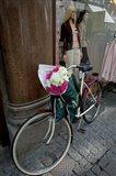 Bicycle Parked in Copenhagen, Denmark