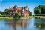 Pond Before The Castle Egeskov, Denmark