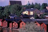 Historic Warehouses on Porvoo River